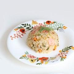 트위그뉴욕 플로럴 라인 플레이트 디저트 디너 접시