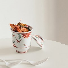 데이오프 자왕무시 계란찜기 뚜껑볼 단풍잎