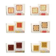 모슬리메모리즈 캔들 60시간 연소 사각글라스 향초 컵 캔들