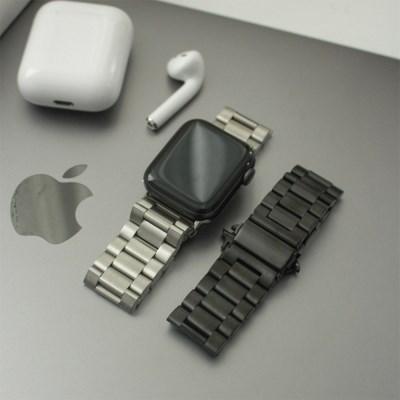 시계 애플워치 고급스런 오피스룩 메탈 시계줄 스트랩
