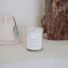 7oz glass candle (단품구매)