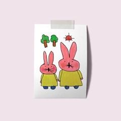 a3 포스터-핑크토끼(1)
