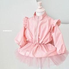 여아 남아 키즈 유아 봄 점퍼 바람막이 발레날개 핑크