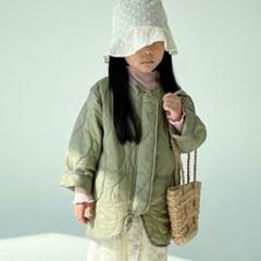여아 남아 키즈 유아 봄 점퍼 바람막이 유니크 카키