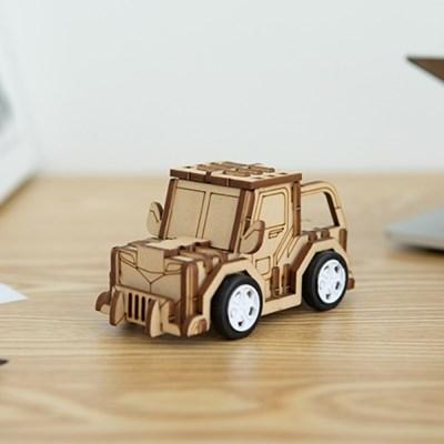 [크래빗] 어린이 코딩 조립 나무 장난감 자동차