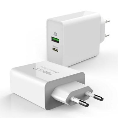 루앱 USB PD 퀵차지3.0 멀티 36W 고속 충전기 PQ30