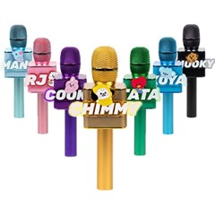 BT21 베이비 블루투스 마이크 스피커 휴대용 노래방 아이돌 굿즈