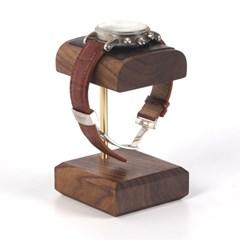 원목 시계 거치대 월넛 스탠드 WS-03