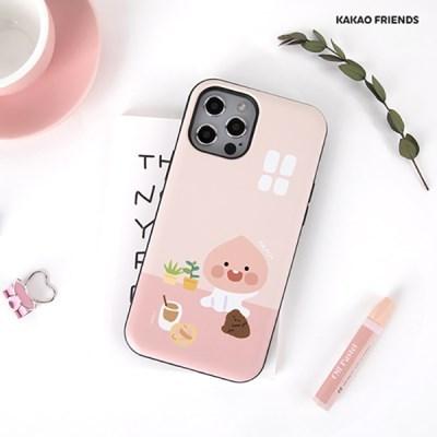 카카오프렌즈 도어범퍼 케이스 토끼 갤 S21 아이폰12