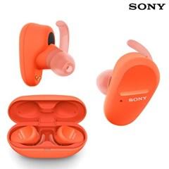 소니 WF-SP800N 노이즈캔슬링 무선 이어폰 / 오렌지