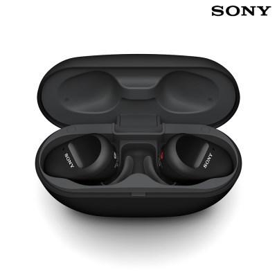 소니 WF-SP800N 노이즈캔슬링 무선 이어폰 / 블랙