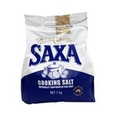 Saxa 자연 바위 소금 Saxa Natural Rock Salt 2kg