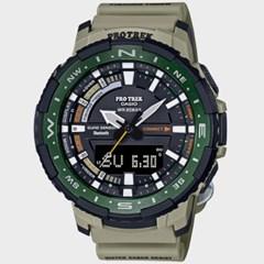 [CASIO] 프로트렉 PRT-B70-5DR 남성 우레탄 손목시계