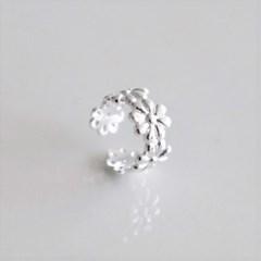 [Silver925] Neat flower earcuff_(1559023)