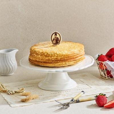 Mr. 키다리 딸기 크레이프 케이크