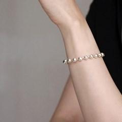 silver ball magnetic bracelet