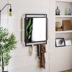 디작소 가구 화장대 더블 사각 벽거울 JD14