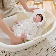 베이비앤아이 신생아 욕조등받이 퓨어 목욕그네_(1091732)