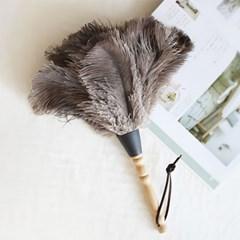디작소 먼지떨이 먼지털이기 먼지털이개 떨이개 천연 타조털