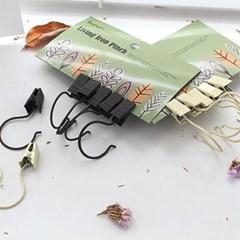 디작소 인테리어 소품 클립 집개 집게 포카치아 8P 2color