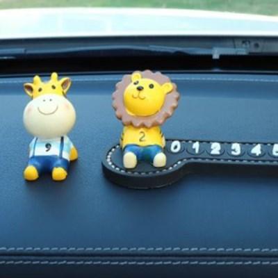 심플 피규어 주차번호판 자동차 악세사리 귀여운 캐릭터 주차알림