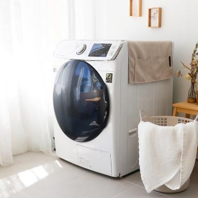 내추럴 인테리어 건조기 드럼세탁기 김치냉장고 전자렌지 커버 덮개