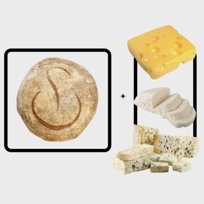 푸알란 미쉬빵 X 프랑스 아티장 치즈