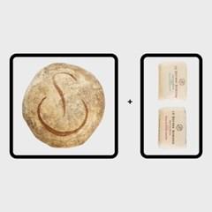 푸알란 미쉬빵 X 보르디에 가염1 무염1