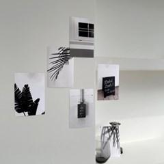 black and white (블랙앤화이트 엽서 6장)