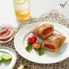 심쿵한 피자 치즈 롤까스 120g X 6개 + 소스 3봉