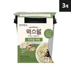 [파이토컬] 믹스밀 오트밀야채 100g x 3개