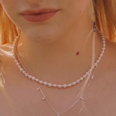 [선미,서은수,유아 착용][silver925]Evelyn necklace