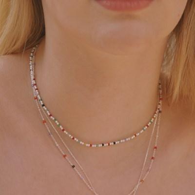 [한소희,황승언][silver925] peekaboo necklace