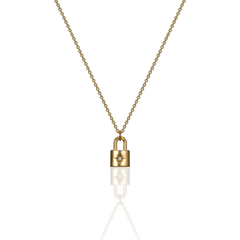 [문별착용]unlock necklace