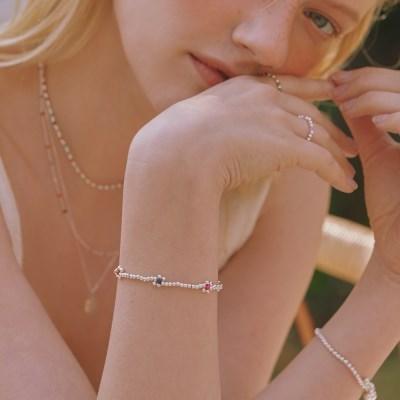 [이사배,유아 착용][silver925] blossom bracelet