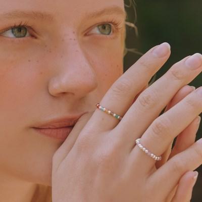 [전효성 착용][silver925]babble ring