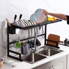 주방 씽크대 식기 수납장 설거지 건조대 싱크대 선반