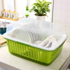 중형/위생 식기 건조대 컵 그릇 보관함 젖병 접시꽂이