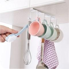 주방 컵걸이 국자 조리기걸이 클립