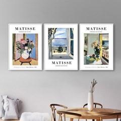 퍼니즈 앙리마티스C (A3) 포스터 3장세트/명화 작품 1+1+1