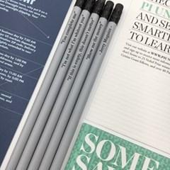 [그레이] GRAY-5P 나미브 메시지 각인 원목연필