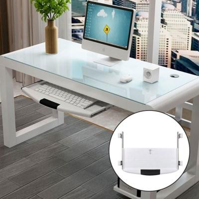 컴퓨터 책상 키보드 모니터 받침대 거치대 트레이