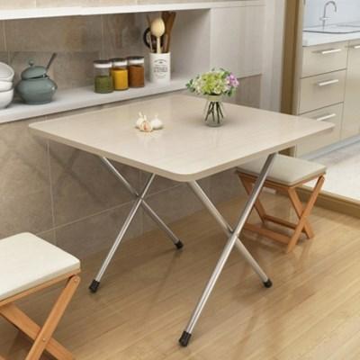 접이식 간이 이동식 테이블 식탁 티 책상 2인용 4인용