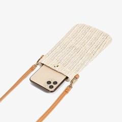 츠린 여성 여름 라탄 미니 휴대폰가방 크로스백_(2566358)