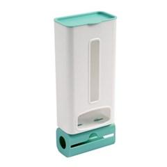 홈리빙 접착식 비닐봉투 정리함 부착 롤백 비닐수납함