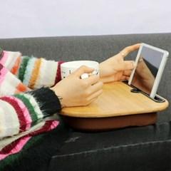 밤부 멀티쿠션 무릎테이블 다용도테이블 리빙아이템