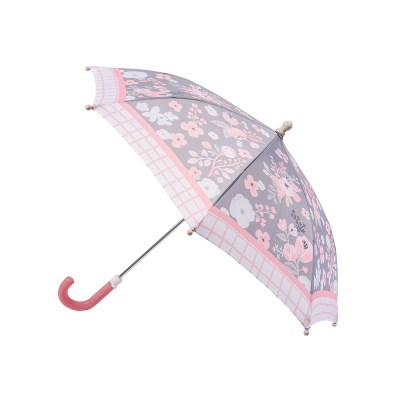 프린티드 우산 - 차콜플로럴