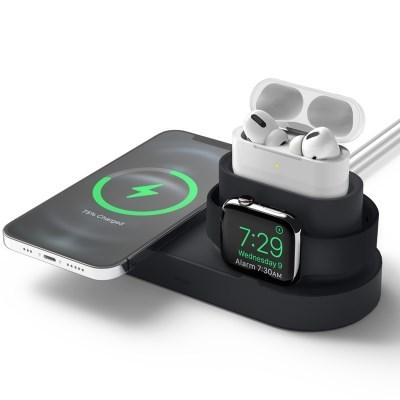 맥세이프 애플워치 에어팟 3IN1 충전거치대