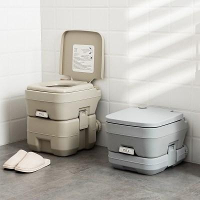 살림의발견 캠핑용 이동식 휴대용 변기 간이 화장실 TK-01