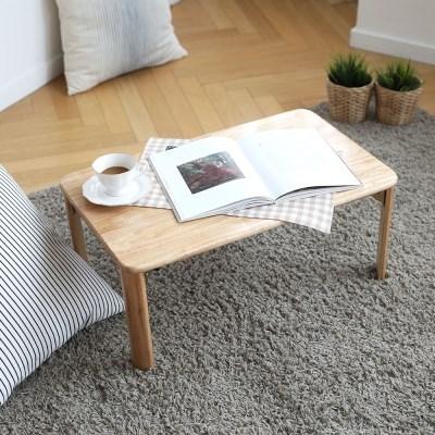순수원목 좌식 접이식 테이블 (600/900 택1)